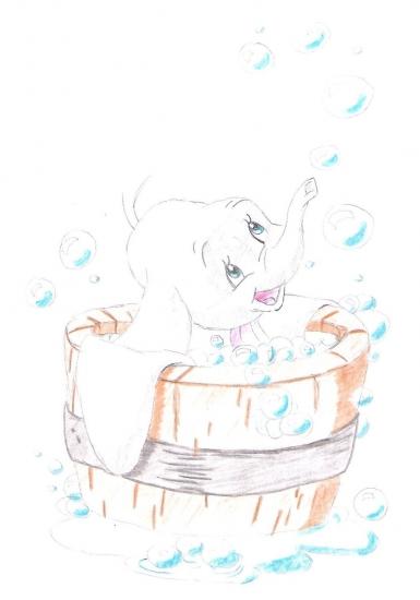 Dumbo por Nicole91